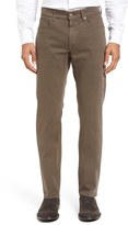 Incotex Men's Raye Satin Trousers