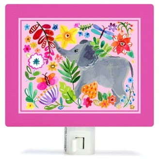 Oopsy Daisy Fine Art For Kids Painted Jungle Canvas Night Light