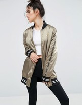 Puma Lounge Silk Bomber Jacket