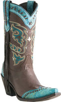 Lucchese Women's Since 1883 M5022. S53F Snip Toe Fashion Heel Wingtip Boot