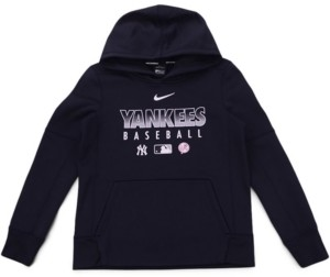 Nike Youth New York Yankees Therma Fleece Hoodie
