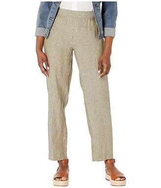 Foxcroft Petite Livingston Chambray Linen Pants