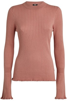 Paige Iona Bell-Sleeve Sweater