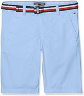 Tommy Hilfiger Boy's Ame Belt Chino Mstrt Swim Shorts