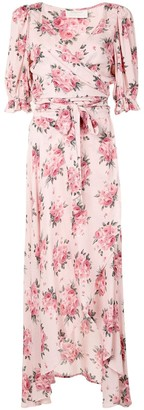 AUGUSTE Roselle Isobel rose-print dress