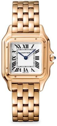 Cartier Panthere de 18K Rose Gold Bracelet Watch