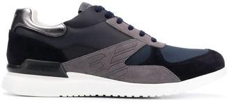 Emporio Armani Suede Panels Sneakers