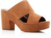 Rebecca Minkoff Jordan High Heel Platform Slide Sandals