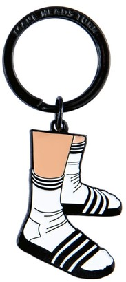 Make Heads Turn Enamel Keychain Socks & Slippers