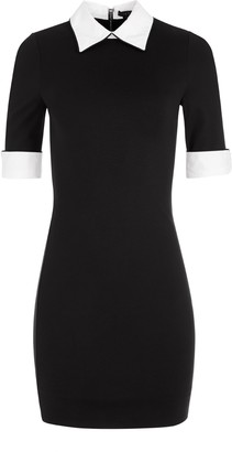 Alice + Olivia Delora Collared Mini Dress