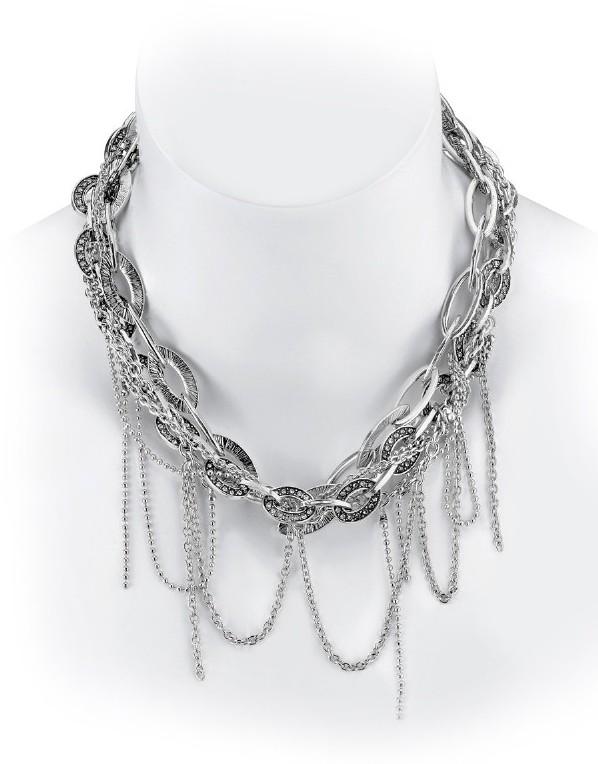 Belle Noel by Kim Kardashian Mulit Chain Nugget Necklace