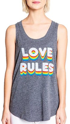 PJ Salvage Love Rules Knit Tank