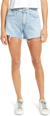 AG Jeans Hailey High Waist Cutoff Denim Shorts