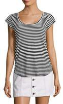 Joie Neyo Striped Linen Tee