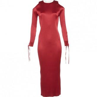 Barbara Casasola Burgundy Dress for Women