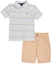 """Nautica Little Boys' """"On Deck"""" 2-Piece Outfit"""