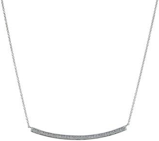 Sylvie Dana Rebecca Designs Rose Long Diamond Necklace