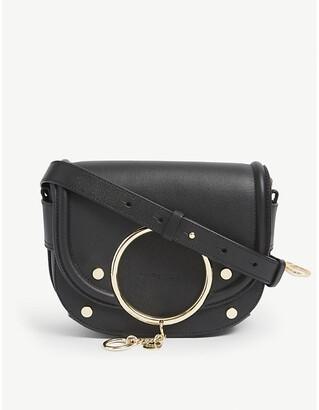 See by Chloe Mara leather crossbody saddle bag