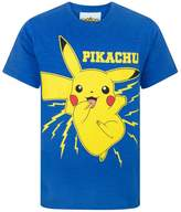 Pokemon Childrens/Boys Official Pikachu Bolt T-Shirt
