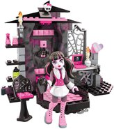 Mega Bloks Monster High Draculaura's Vamptastic Room