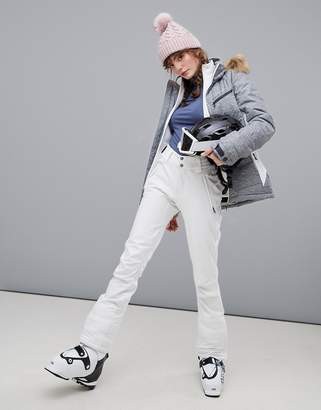 Protest Lole softshell ski pants in white