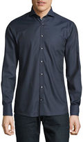Bruun And Stengade Chester Slim-Fit Solid Shirt