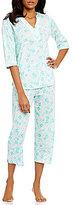 Miss Elaine Floral Pajamas