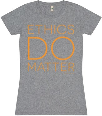 Bo Carter Ethics Do Matter T-Shirt (Grey)