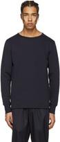 Acne Studios Navy Finish Sweatshirt