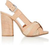 Maison Margiela Women's Intertwined-Strap Slingback Sandals-NUDE