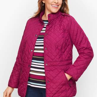 Talbots Diamond Quilted Jacket
