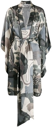 Carine Gilson Butterfly Sleeve Kimono