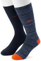Izod Men's 2-pack Patterned Crew Socks