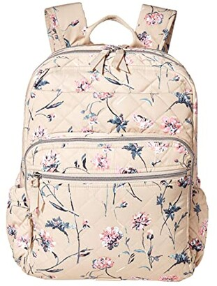 Vera Bradley Performance Twill XL Campus Backpack (Strawflowers) Backpack Bags