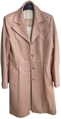 Non Signã© / Unsigned Non SignA / Unsigned Pink Leather Coats