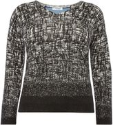 Persona Acquario textured v neck jumper