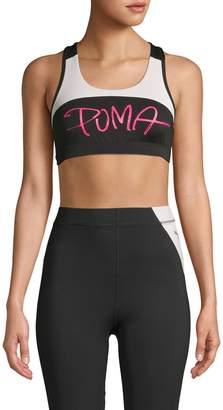 Puma Logo Colorblock Sports Bra