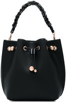 Sophia Webster braided strap bucket tote - women - Calf Leather - One Size