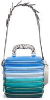 Anya Hindmarch 'Stack Circle' six zip leather bag