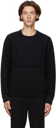 Neil Barrett Black Merino Rib Knit Sweater