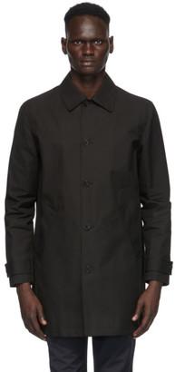 A.P.C. Black Victor Rain Coat