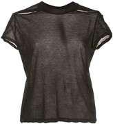 Rick Owens sheer short sleeved T-shirt