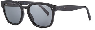 Celine Men's Studded Square Acetate Sunglasses