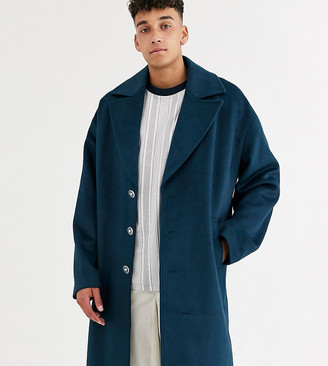 Asos Tall overcoat in wool mix