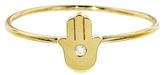 Jennifer Meyer Mini Hamsa Diamond Ring