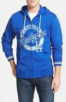 Mitchell & Ness Men's 'Los Angeles Dodgers' Full Zip Hoodie