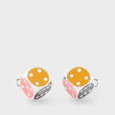 Paul Smith Men's Multi-Coloured Dice Cufflinks