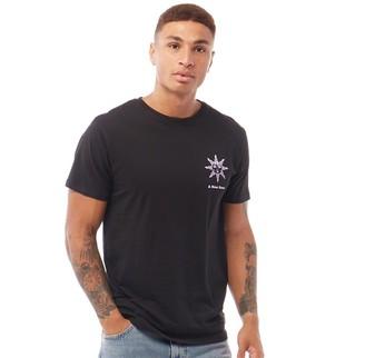 Dstruct Mens Graphic Print T-Shirt Black