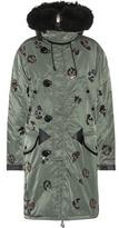 Coach Embellished parka coat