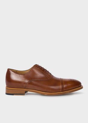 Paul Smith Men's Tan Parma Calf Leather 'Berty' Brogues